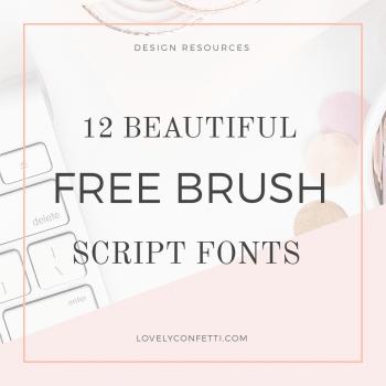 12 beautiful free brush script fonts