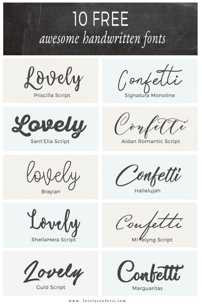 best handwriting fonts free download 10 free awesome handwritten fonts lovelyconfetti 11701
