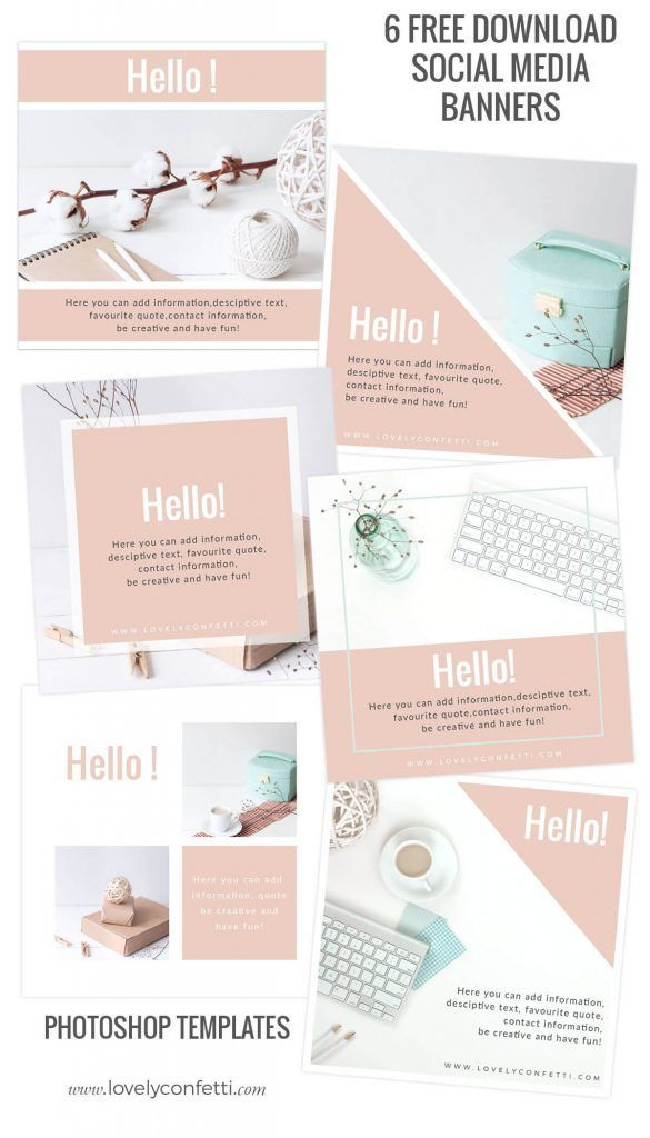 6 free download social media banners