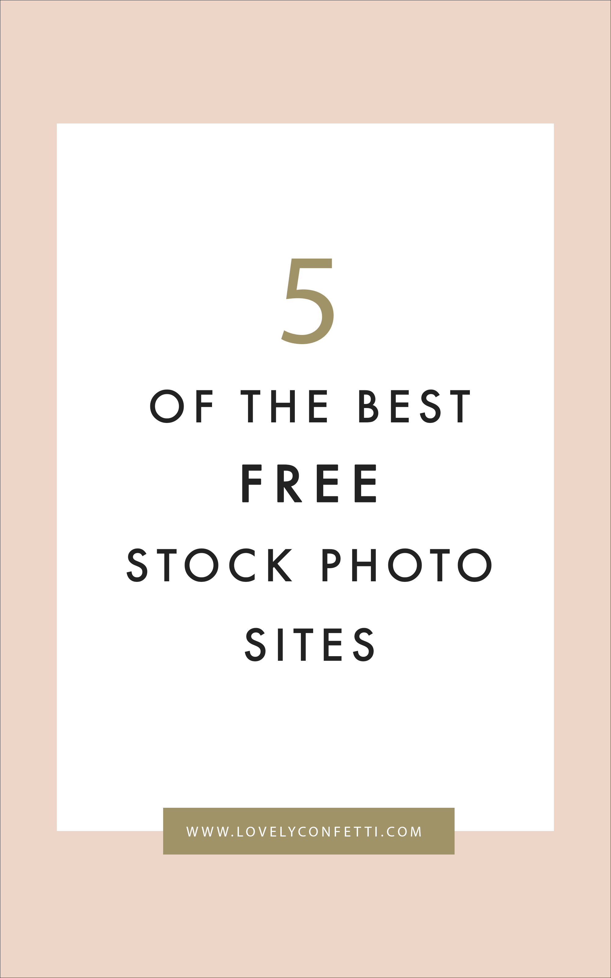 5 of the best free stock photo sites