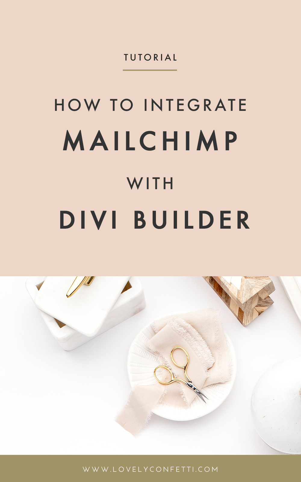 How to integrate MailChimp with Divi Builder